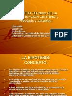 2.8- 2.9 C Hipótesis y Variables.ppt