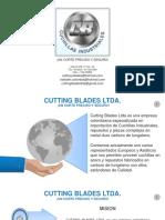 Presentacion comecial cutting blades ltda