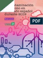 Resumen Informe Ozono 2019