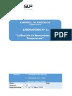 Laboratorio 11 Calibración de Transmisores