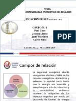 Sostenibilidad Energética de Ecuador