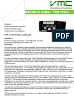 Trip Circuit Supervision Relays - Type v95rs