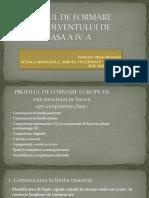 Profilul Absolventului de Clasa a IV-A