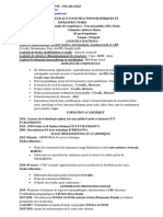 CV prof