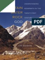 Mountain Water Rock God.