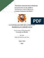 La Naturalización de La Ética (Tesis de Licenciatura) - Copia