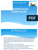 Classificação hospitalar
