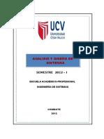 Silabo de Analisis y Diseño de Sistemas-2012-I-UCV-CH