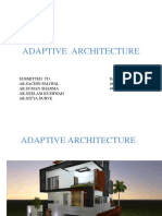 Adaptive Architecture Ppt