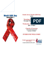 World Aids Day 2010 Flyer