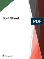 Songtrust Split Sheet