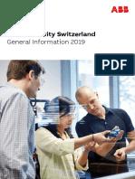 2019 ABB UniSwiss Gerenal Info Brochure