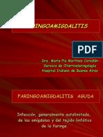faringoamigdalitis.Conceptos