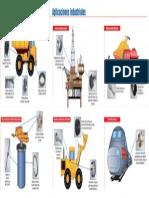 Algunas Aplicaciones Industriales de Los Rodamientos.