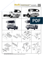 Asone Auto Body Parts Catalog for Isuzu Forward Frr Fsr Ftr Fvr 2008 On