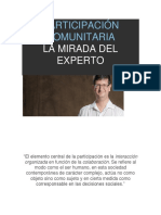 SALUD PUBLICA. PARTICIPACION COMUNITARIA