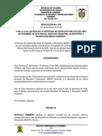 Resolucion. Nro. 094 Dic 2018 - Servicios Publicos Diciembre