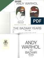 Warhol Bazaare Years1