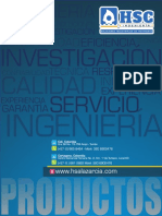 Brochure Productos HSC Ingenieria
