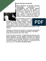 Biogarfia de María Mendoza de Baratta, Letra de La Cancion Las Cortadoras y Las Comaleras