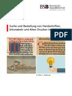 Opac Recherchehinweise Handschriften Drucke 201806 Neu