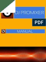 DJ Promixer20 Manual
