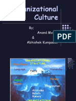 Org Culture by Anand Mohan & Abhishekh k.