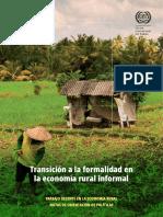 Transición a La Formalidad Rural