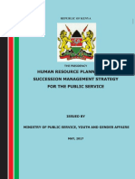 Succession Management Policy.pdf - Kenya