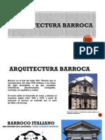 Historia III arquitectura barroca