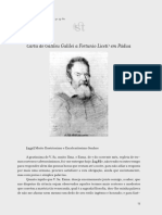 Carta de Galileu