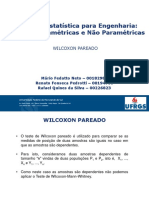 Wilcoxon Pareado
