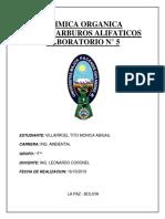 INFORME ALIFATICOS