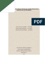 Proyecto Grupal -Segunda Parte - Presupuesto Publico