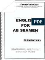 English for AB Seamen