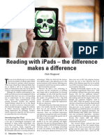 Reading With IPads the Difference Makes