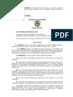 Auto Admite Tutela 2013-00271-00 Cumplimiento de Providencias Judiciales