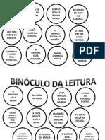 Binóculo Da Leitura.