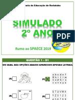 Slaide Simulado 2º Ano (2019)