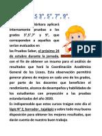 Información Blog Pruebas
