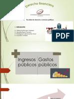 Financiero 2019 Ingresos y Gastos Publicos