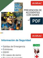 Prevencion de Accidentes Con Gases - Incimmet - El Porvenir