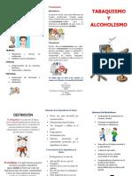 tabaquismo y alcoholismo