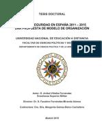 Tesis Doctoral Ciberseguridad en España 2011-15, Propuesta