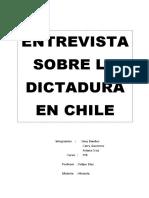 Dictadura Pinochet
