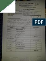 Examen de Fin de Formation TCE 2017 v1