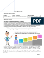Propuesta de Enseñanza Inglés Para Niños