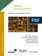 Antunes Ricardo & Al, Trabajo y Capitalismo