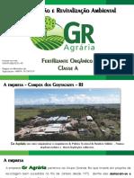 Sergio Cantalista - Coordenador Administrativo da GR Agrária - Preservação e Revitalização Ambiental