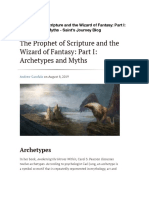 The Prophet of Scripture and the Wizard of Fantasy